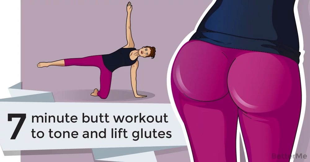 A 7-minute butt workout to tone and lift glutes