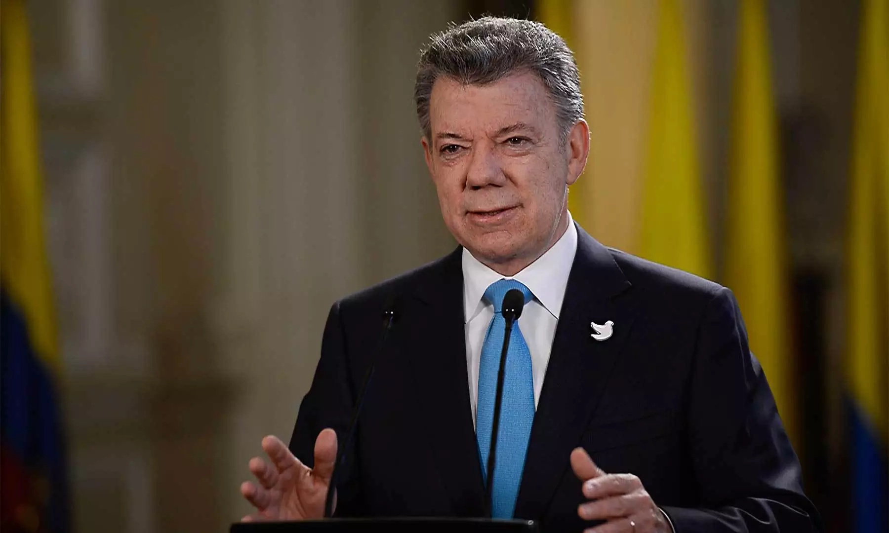 Presidente Santos hace balance de sus seis años de mandato