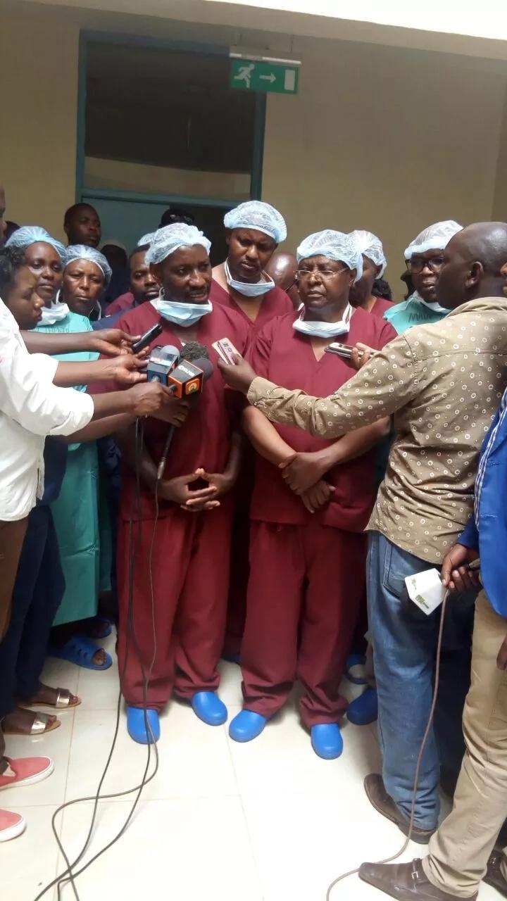 Embu achieves milestone with first brain surgery