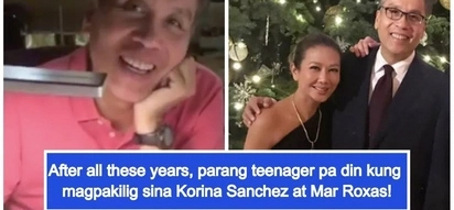 May sparks pa din: Korina Sanchez and Mar Roxas duets their way to forever