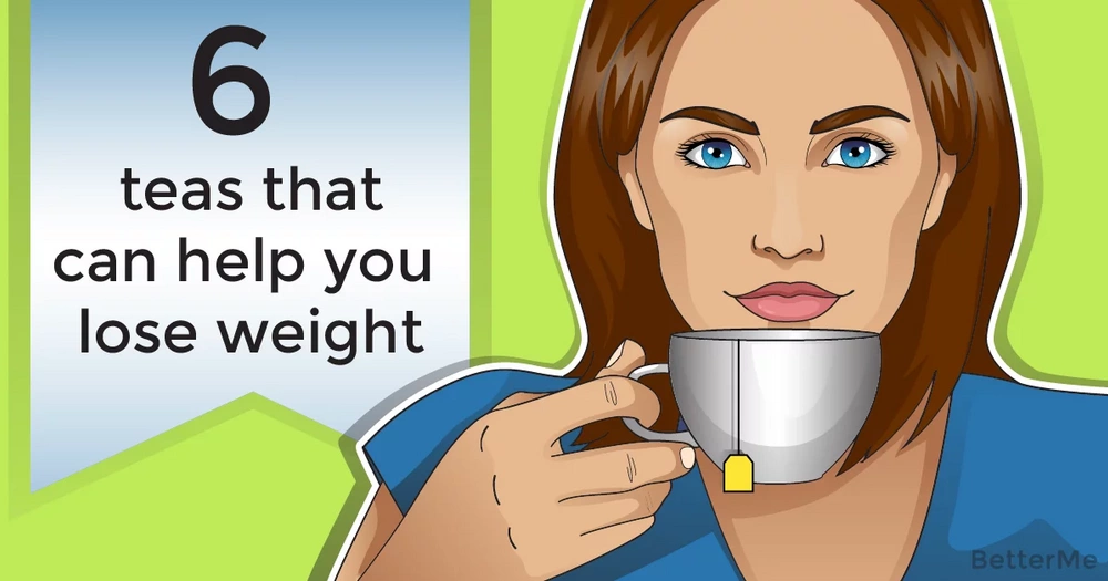 6 teas that can help you lose weight