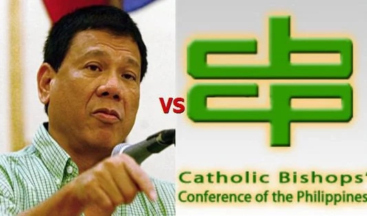 Bishop warns Duterte for calling the church hypocrite