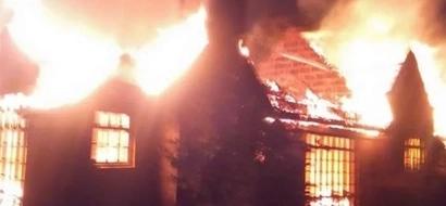 KANU Secretary General's house burnt down