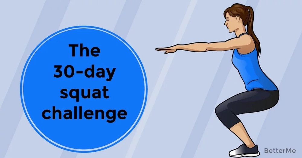The 30-day squat challenge