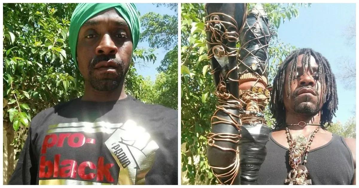 'Black Jesus' causes a stir, shoots strangers dead (photos)