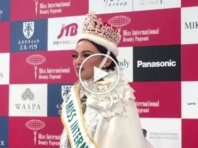 Makabayan siya! Kylie Verzosa inialay ang panalong Miss International sa mga Pilipino