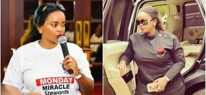 Kenya's hottest female pastor Lucy Natasha induces jealousy online as she flaunts her flamboyant lifestyle