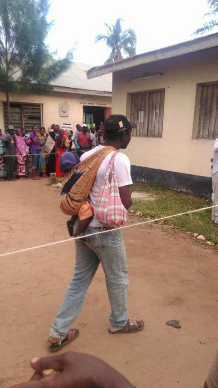 All powerful photos from historic voting in Kenya including where politicians voted