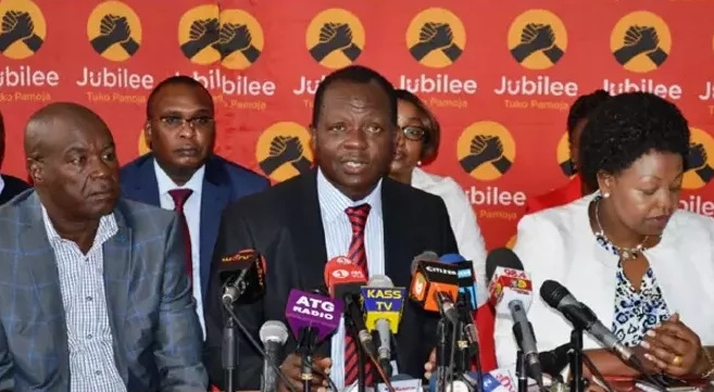 Jubilee Party makes a rare admission regarding its planned nominations