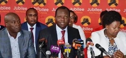 Chama cha Jubilee kurudia uteuzi katika eneo hili