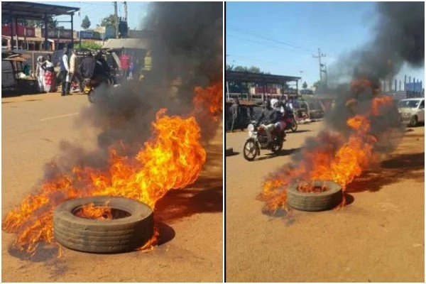 Chaos in Bungoma ahead of Ruto's visit