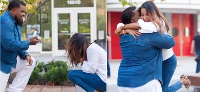 Photoshoot turns into a proposal and it is heartwarming