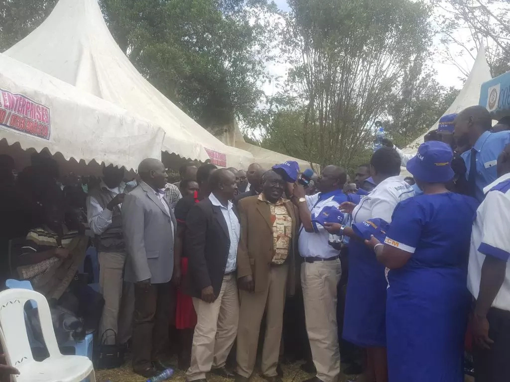 URP members decamp to Isaac Ruto's Chama Cha Mashinani