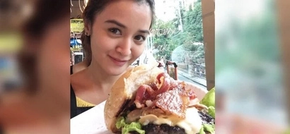 Craving celebrities go to Kris Bernal's burger resto to satisy their hungry pangs