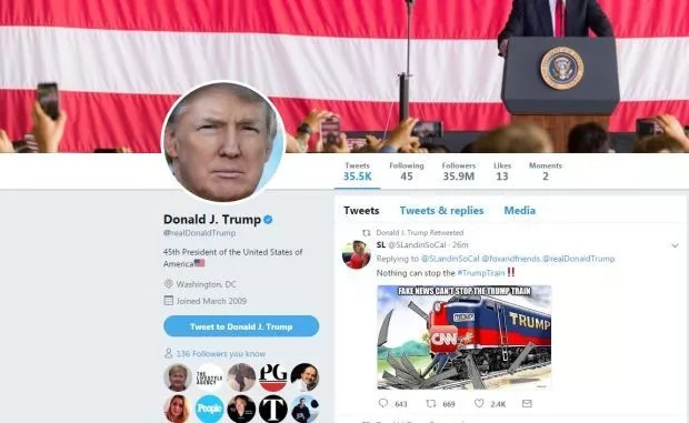 President Trump's latest twitter outburst that have left many baffled