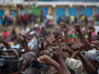 Angry Kenyans demand an end to ethnic cleansing after Mathare killings as tension remains high