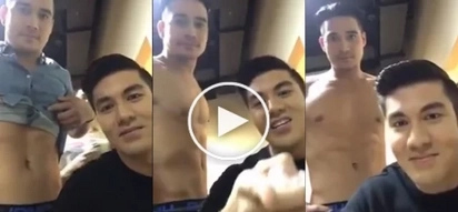 Malisyoso! Here's the truth about the intriguing snapshots of Luis' Facebook Live with Piolo