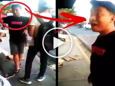 Watch this heartbroken beki humiliate his boyfriend in public after catching him on a date with a girl! So shocking!