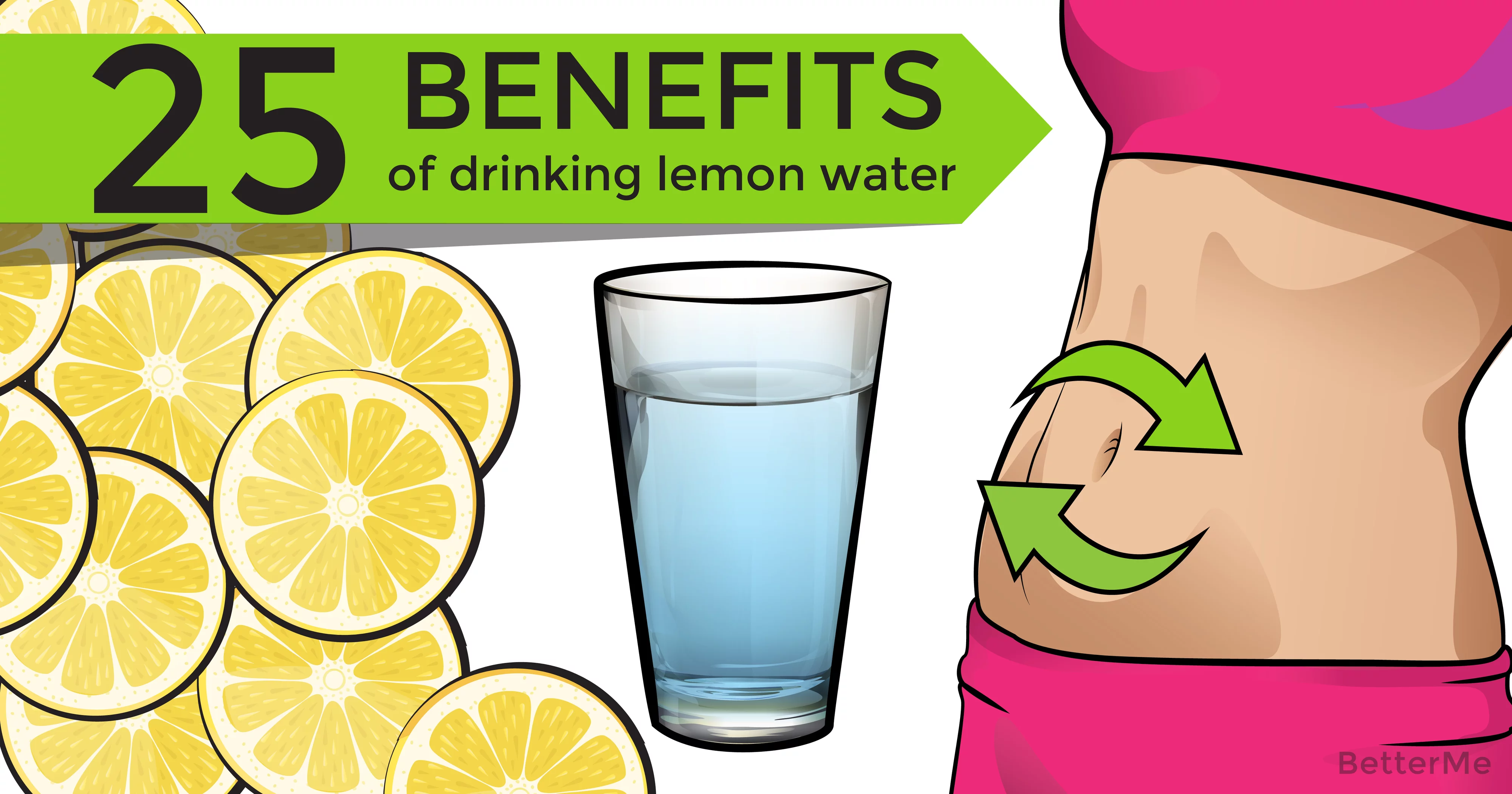 25 health benefits of drinking lemon water
