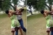 Two women in savage fight over head teacher in front of students