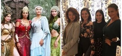 Nagkasama-sama ulit! The original Sang'gres Karylle, Sunshine Dizon, Diana Zubiri and Iza Calzado reunites in a dinner date