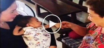 Watch Robin Padilla and Mariel Rodriguez's baby Isabella meet lola Eva for 1st time!