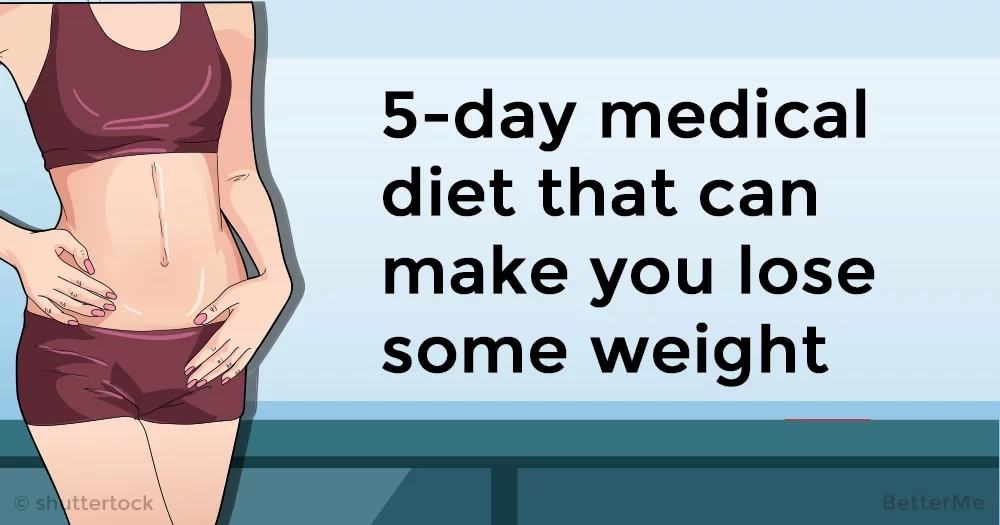 5-day medical diet that can make you lose some weight