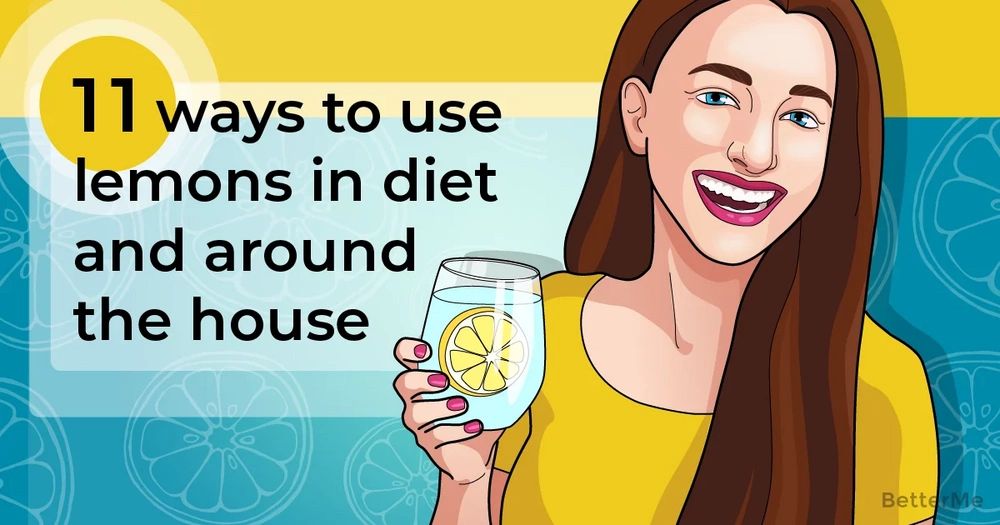 11 ways to use lemons in your diet and around the house