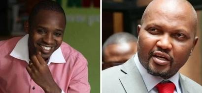 Historia ya ugomvi kati ya Moses Kuria na Boniface Mwangi