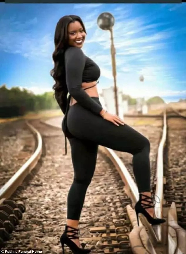 Train hits and kills pregnant aspiring model, 19, during photo shoot (photos)