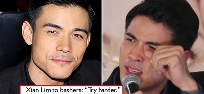 Try pa more! Xian Lim challenges his bashers who want to put him down to 'try harder'