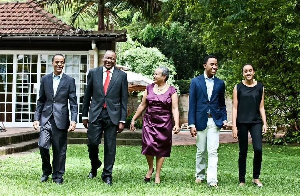 Forget about State House, this is where you will MOST likely bump with Uhuru Kenyatta's Children
