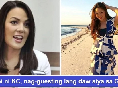 Lilipat ba siya sa kabilang bakod? KC Concepcion shuts down rumors of an alleged transfer from being a Kapamilya to being Kapuso
