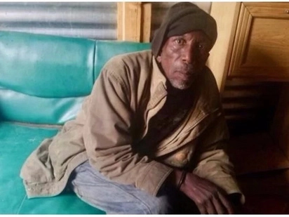63-year-old disabled man is homeless and was abandoned by his family