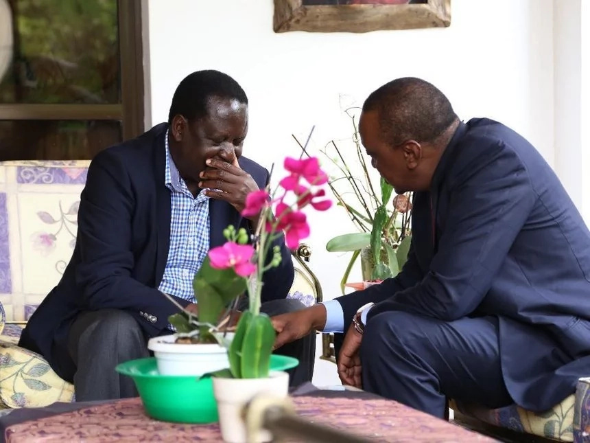 Raila hits out at Uhuru for replacing Nkaissery immediately after his death