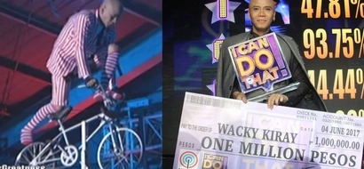 Wacky Kiray wins 'I Can Do That' with his breathtaking balancing act, dedicates achievement to Vice Ganda. Watch his death-defying performance here!