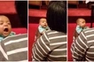 Watch adorable moment cute baby boy sings along with his mother in church
