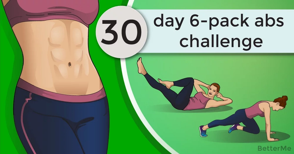 A 30-day 6-pack abs challenge