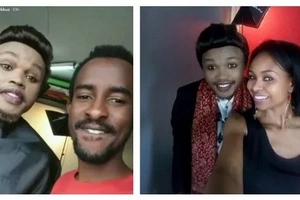 Khaligraph Jones move over! Comedian Chipukeezy hits online with bleaching photos
