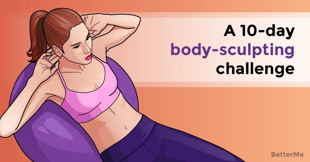 A 10-day body-sculpting challenge