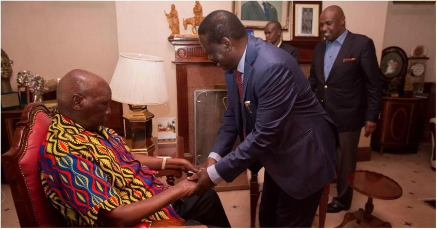 Yaliyojadiliwa kwenye mkutano wa kushtukiza kati ya Raila na rais mstaafu Danie Moi