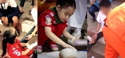 Brave 6-year-old is the youngest medic in the world - treating injured people since she was two