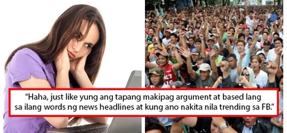 Ignorante raw pero confident! Filipinos among 'most ignorant of key issues' according to survey, Pinoys react