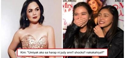 Na-nginig nang makatabi si Juday! Kim Chiu cries over fangirling moment with Judy Ann Santos