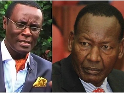 Mutahi Ngunyi fires back at the government after they ordered him to pull down his controversial video on Nkaissery