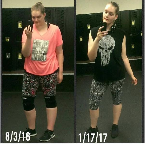 """Esta mujer pensó que siempre sería de """"talla extra"""" hasta que hizo este simple cambio"""