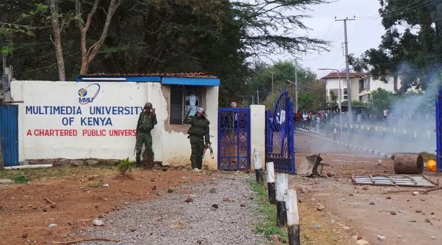 Police shoot Multimedia University students