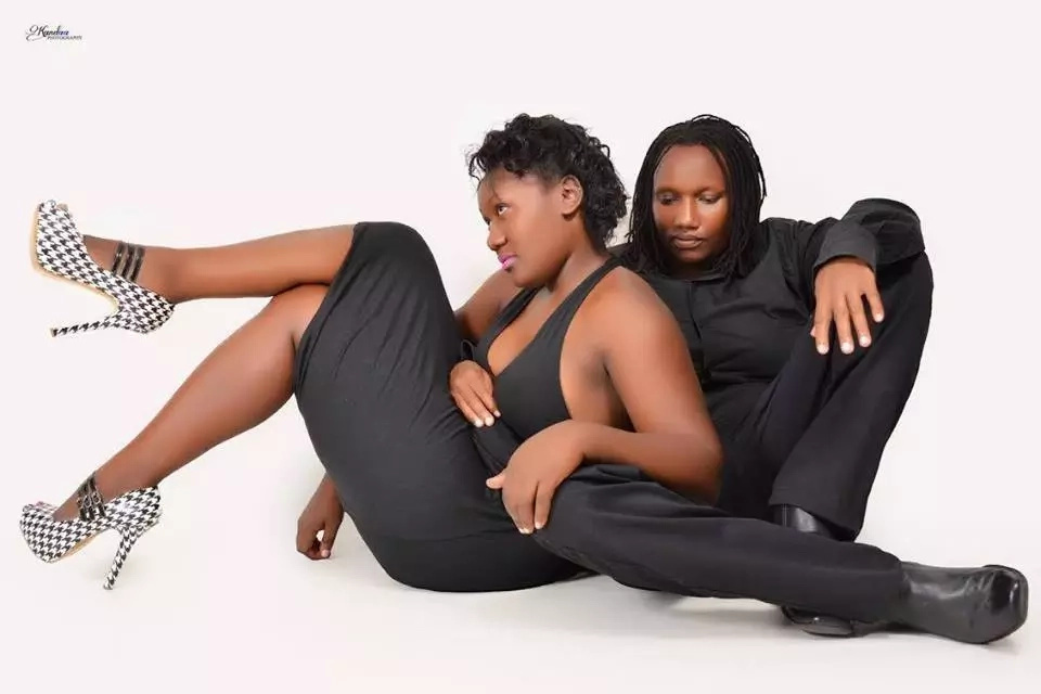 Kenyan lesbian couple publicly announce their engagment