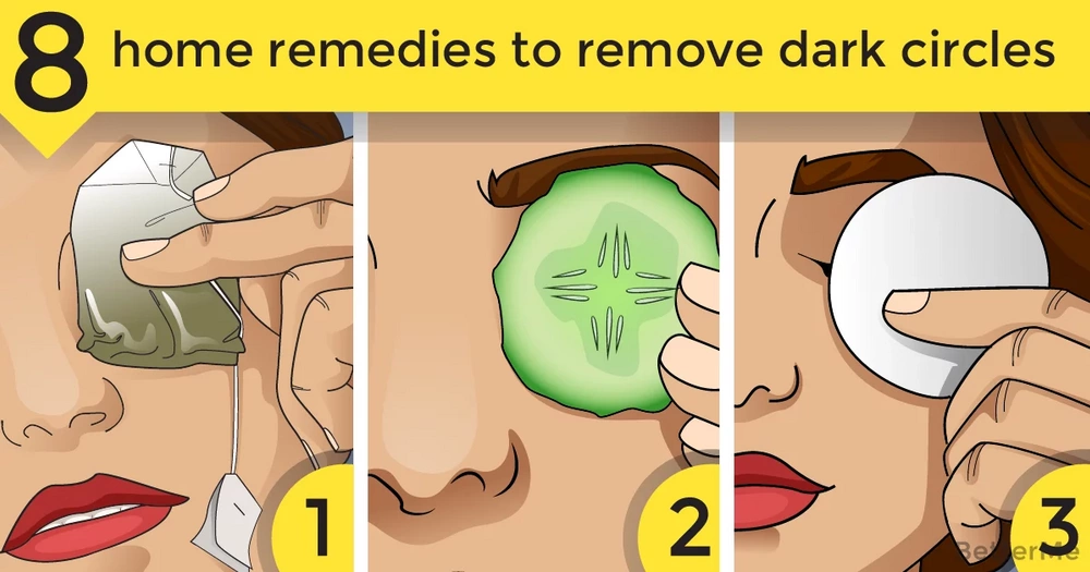 8 home remedies to remove dark circles