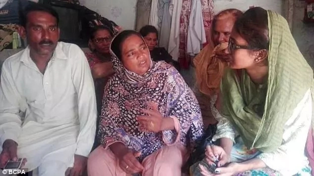 Sharoon's parents narrate their ordeal. Photo: BCPA